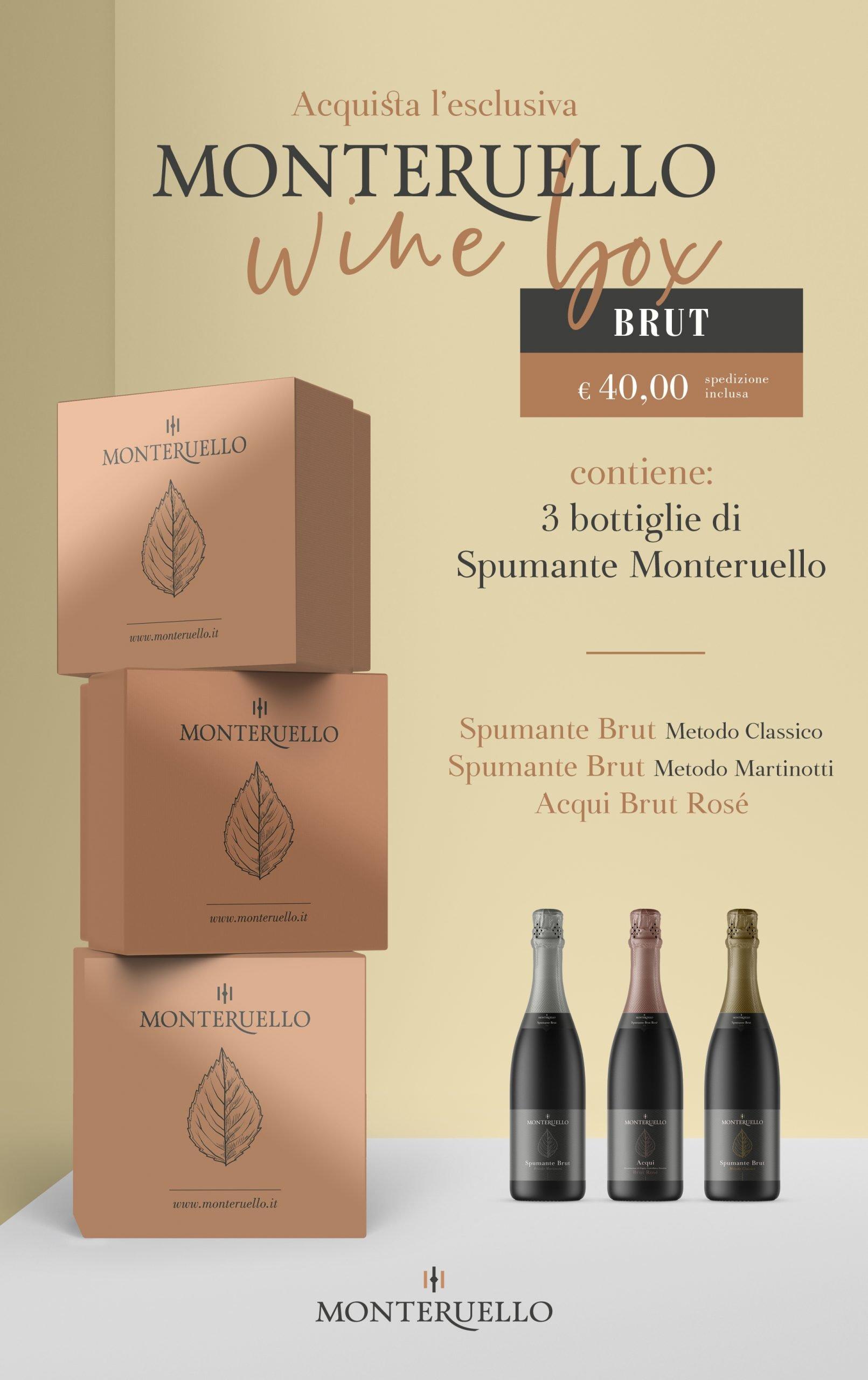 Monteruello | Wine Box | Brut | www.monteruello.it