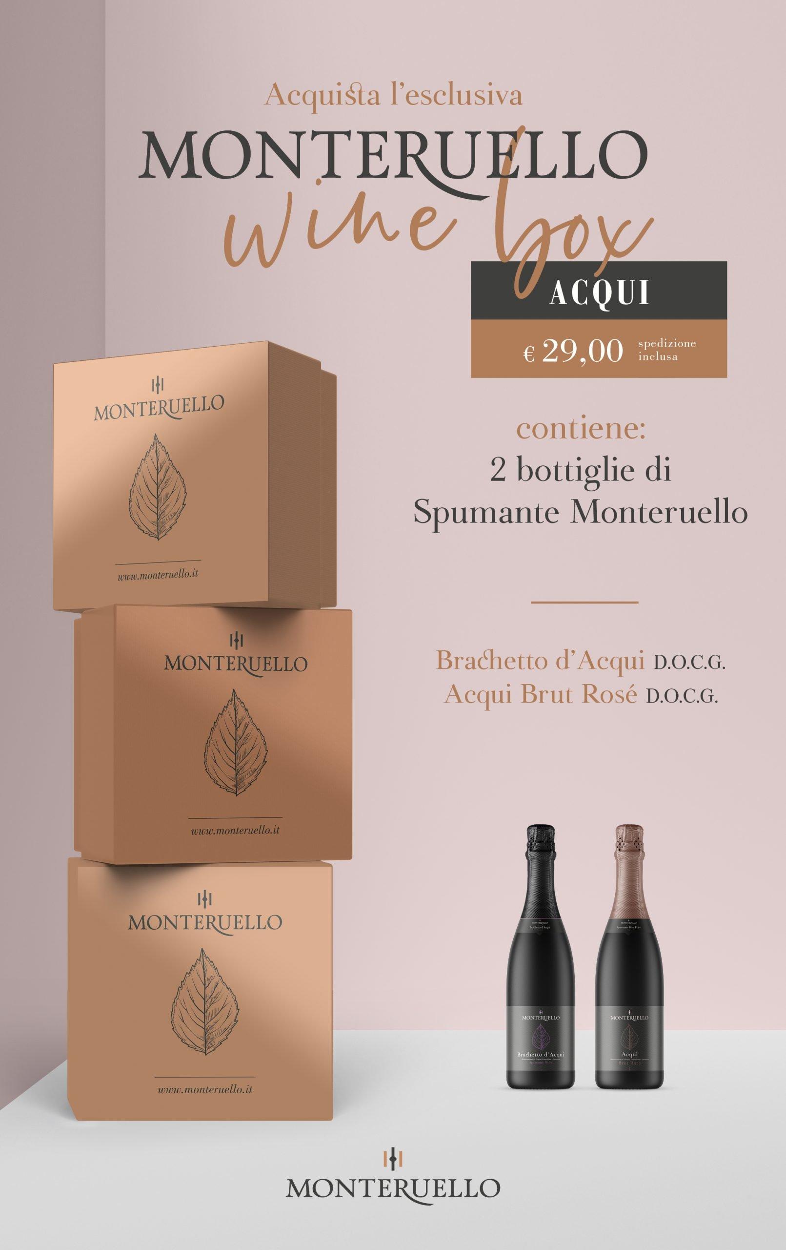 Monteruello | Wine Box | Acqui | www.monteruello.it