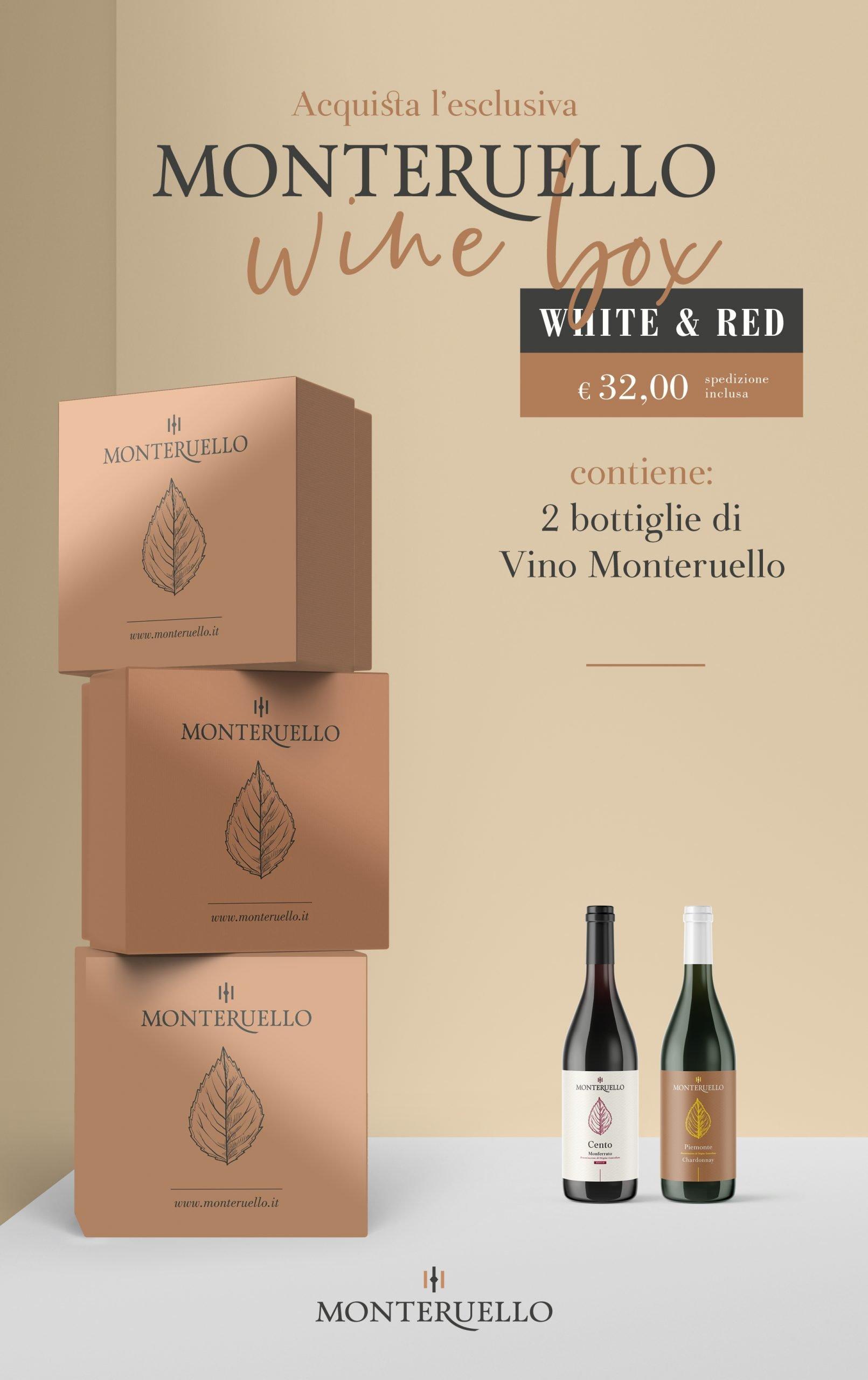 Monteruello | Wine Box | White & Red | www.monteruello.it